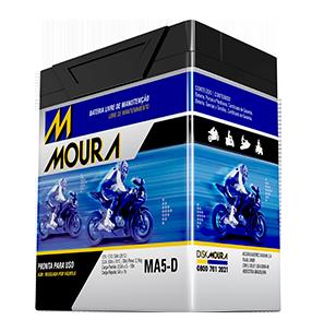 Ilustração MOURA MOTO AGM/VRLA