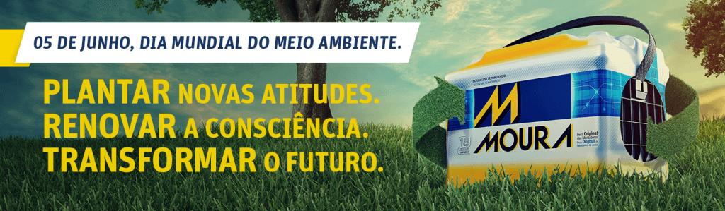No Grupo Moura, o cuidado com o meio ambiente é um compromisso constante
