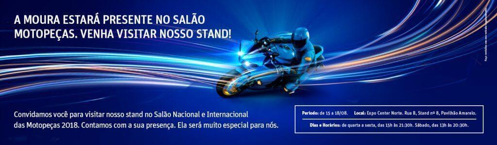 Moura participa do X Salão Nacional e Internacional das Motopeças
