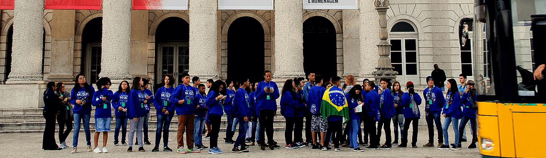 """Projeto """"ERA UMA VEZ… BRASIL"""" leva estudantes e professores da rede pública para Portugal"""