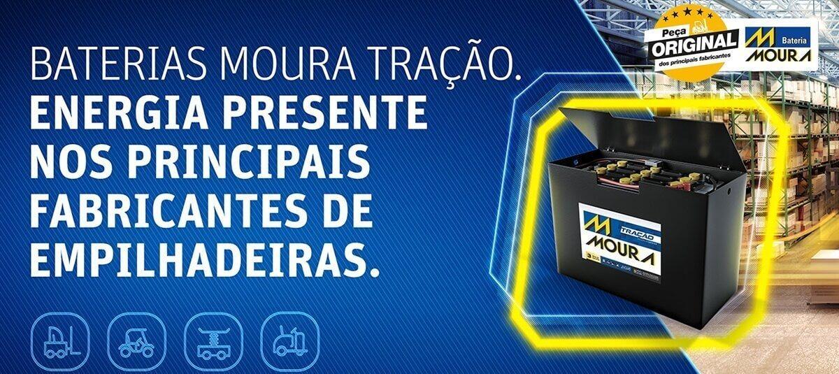 Grupo Moura é líder no mercado de tração