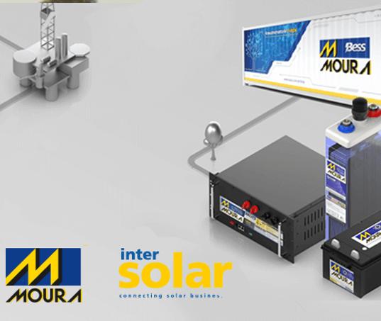 Moura apresenta na Intersolar 2019 o portfólio de baterias mais completo da América do Sul para energias renováveis