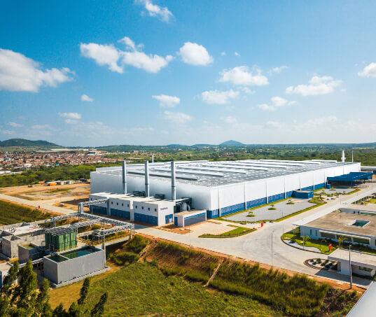 Uma fábrica modelo em recursos hídricos