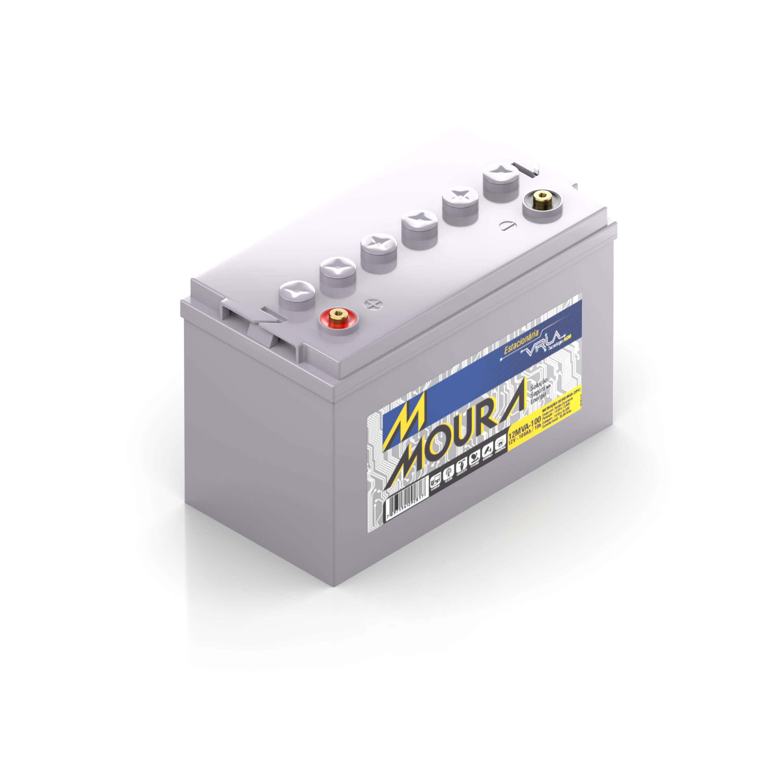 Bateria estacionária moura VRLA