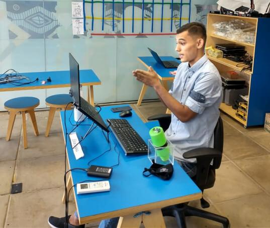 Jovens do programa Território do Fazer, do Instituto Conceição Moura, são destaque nacional em Robótica