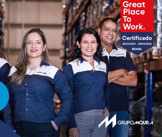 Grupo Moura é uma das melhores empresas para se trabalhar